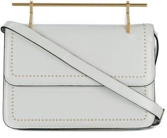M2Malletier leather shoulder bag