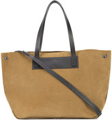 Rag & Bone open top tote bag - women - Leather/Suede - One Size