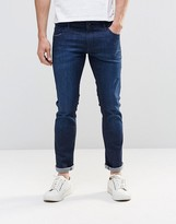 Boss Orange By Hugo Boss Skinny Jeans In Darkwash