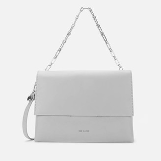 Ted Baker Women's Diaana Bar Detail Shoulder Bag - Light Grey