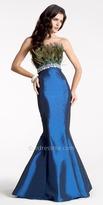 peacock, wedding theme dress