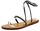 Maliparmi Sandalo Tc Basso Prezioso Open Toe Synthetic Thong Sandal.