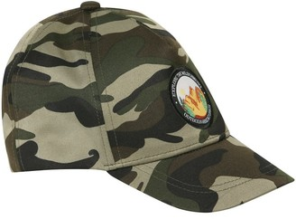 M&Co Camouflage baseball cap