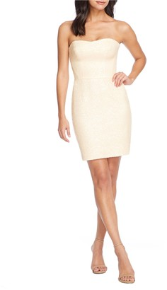 Dress the Population Cindy Strapless Mini Dress