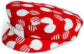L'Wren Scott Red/Cream Printed Hat