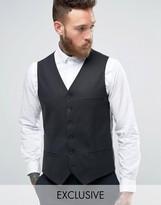 Heart & Dagger Super Skinny Waistcoat