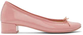 Repetto Pink Patent Lou 30 Ballerina Heels