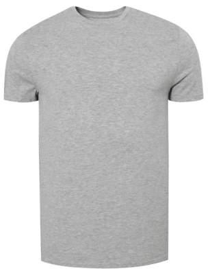 George Grey Marl Crew Neck Slim Fit T-shirt