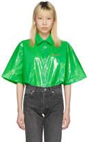Balenciaga Green Bin Shirt