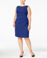 Calvin Klein Plus Size Sunburst Sheath Dress