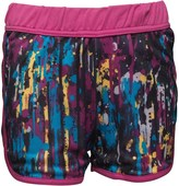 Converse Junior Girls Mesh Shorts Splatter Drip Print