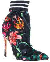 Privileged Nenny Floral Print Bootie