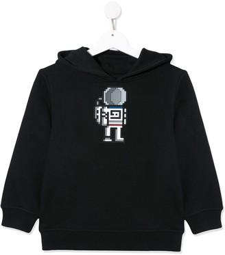 Mostly Heard Rarely Seen 8 Bit astronaut hoodie