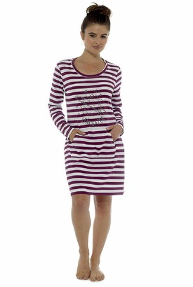 Follow That Dream Ladies Stargazer Design Printed Nightdress (Medium - UK 12-14