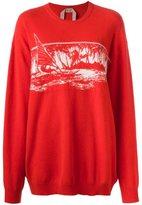 No.21 'landscape' knit pullover