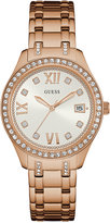 GUESS Women's Waverly Rose Gold-Tone Stainless Steel Bracelet Watch 38mm U0848L3