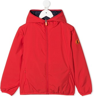 Save The Duck Kids Reversible Hooded Jacket
