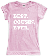 Urban Smalls Light Pink 'Best Cousin Ever' Tee - Toddler & Girls