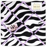 JoJo Designs Funky Zebra Fabric Memory/Memo Photo Bulletin Board by Sweet
