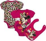 Disney Baby Girls' Minnie Mouse Three-Piece Set