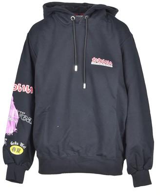 GCDS Women's Black Sweatshirt