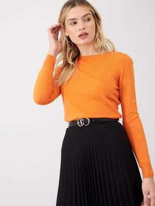 Very Supersoft Long Sleeve Jumper - Orange