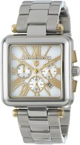 Andrew Marc Men's AM40028 Mother-Of-Pearl Dial Chronograph Bracelet Watch