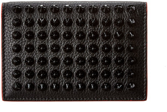 Christian Louboutin Sifinos Leather Card Holder