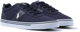 Polo Ralph Lauren Handford Newport Navy Canvas Trainers