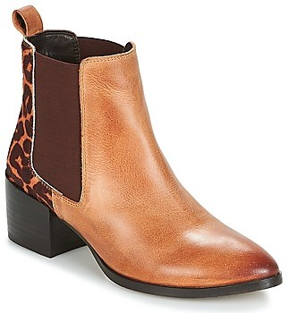 Ravel SAXMAN women's Low Ankle Boots in Brown
