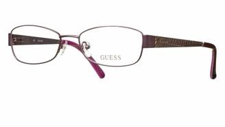 GUESS Women's Brille GU2404 53O24 Optical Frames