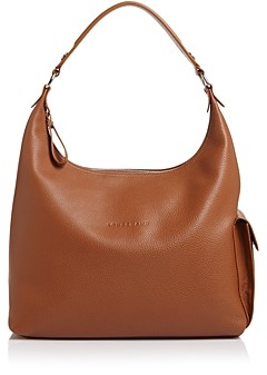 Longchamp Le Foulonne Leather Hobo