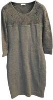 Malo Grey Cashmere Dress for Women