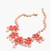 J.Crew Floral cascade necklace