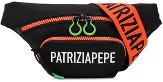 Patrizia Pepe Logo-Print Belt Bag