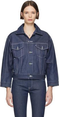 Levi's Levis SSENSE Exclusive Indigo Denim Jacket