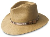 Bailey Of Hollywood Derian Toyo Straw Hat with Patterned Band