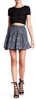 Angie Printed Mini Skirt