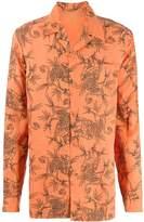 Maharishi animal print long-sleeve shirt