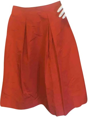 Miu Miu Red Polyester Skirts