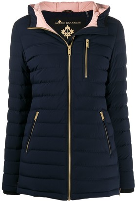 Moose Knuckles Fitted Puffer Jacket