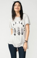 MUMU Oliver Tee ~ Feather Eclipse Graphic