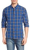 Grayers Men's Seaford Plaid Poplin Sport Shirt