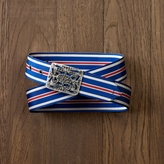 Rugby Crystal-Buckle Ribbon Belt