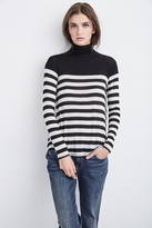 Aretha Striped Lux Gauze Top