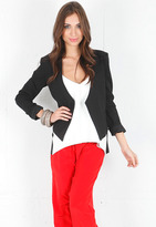 Mason by Michelle Mason Suiting Jacket in Black