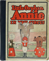 One Kings Lane Vintage Little Orphan Annie in the Circus