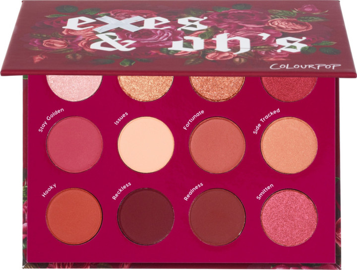 Thumbnail for your product : Colourpop Exes and Oh's Pressed Powder Eyeshadow Palette