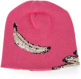 Baja East banana beanie - unisex - Cotton/Viscose - One Size