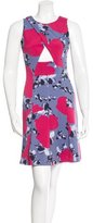 Thakoon Cutout Floral Print Dress